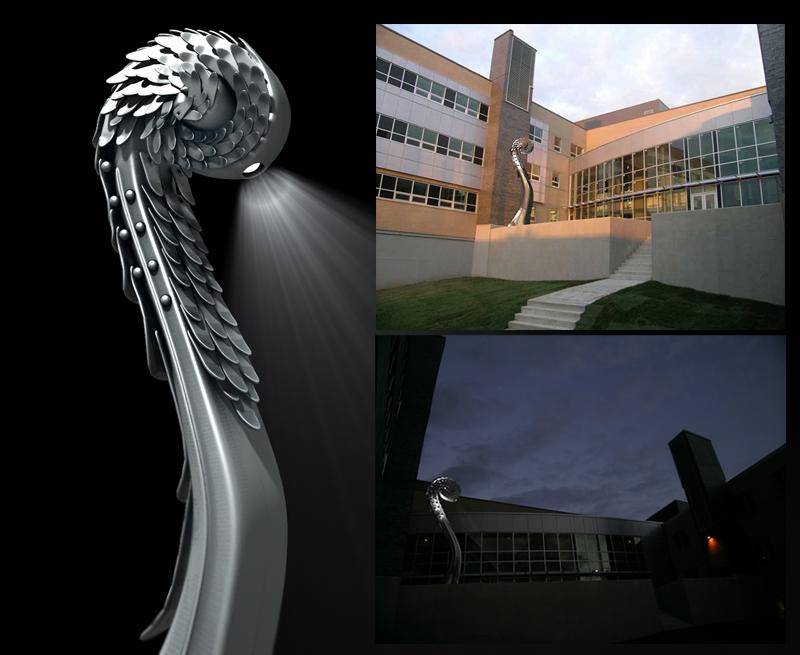 La Veilleuse, 2007 (Visualisation 3D/Concept)