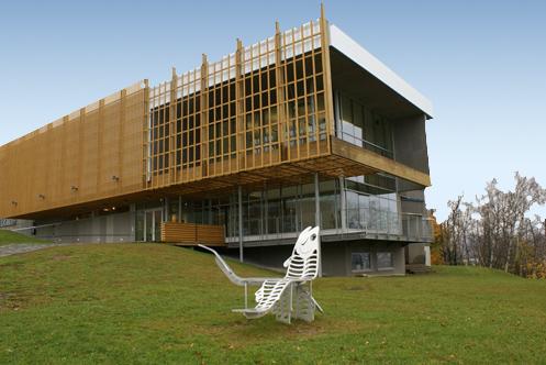 Être Rivière,2009. Musée De La Gaspésie, Gaspé